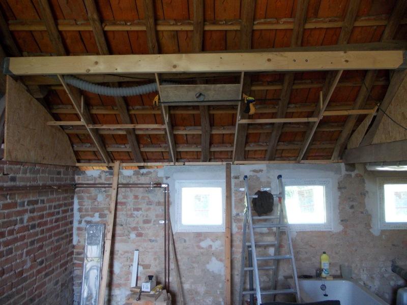 Suspended ceiling frame