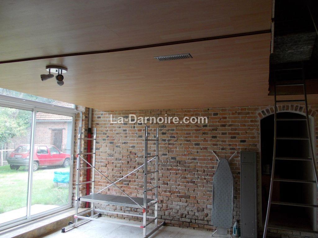 Laminate ceiling